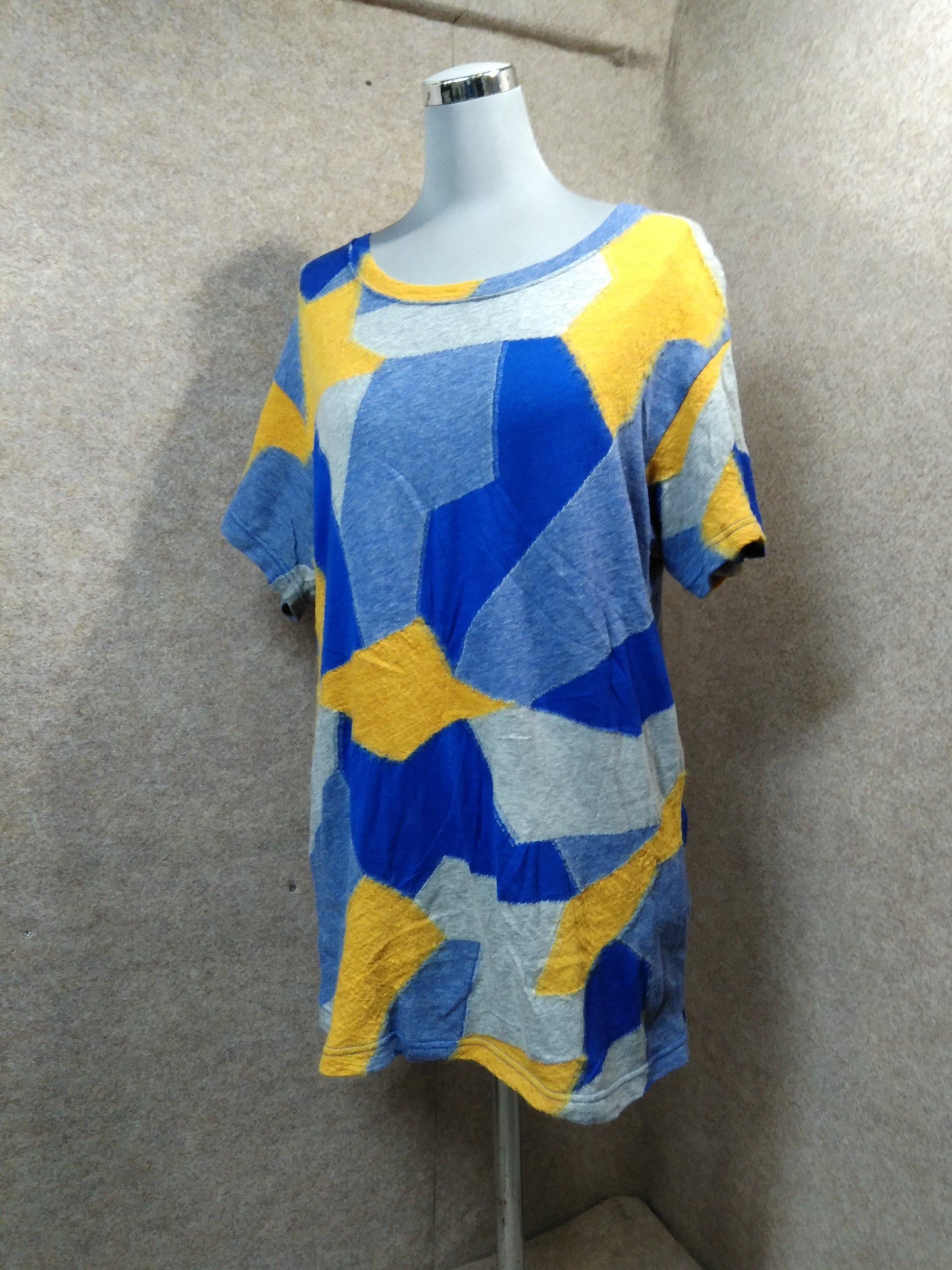 ズッカ zucca Tシャツ モザイク パッチワーク mh337s