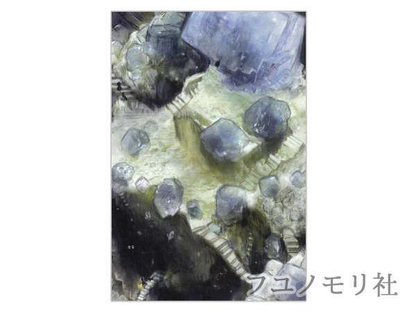 ポストカード - フローライトの旅(1) - フユノモリ社 - no19-fuy-05