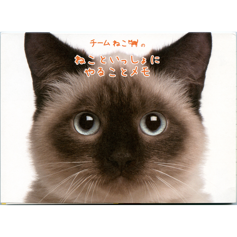 猫メモ(やることメモ表紙シャム猫)
