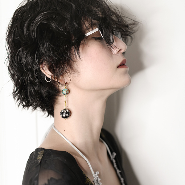 df17SM-IRFG02 BALL CHARM PIERCE IRUKA×MONDE