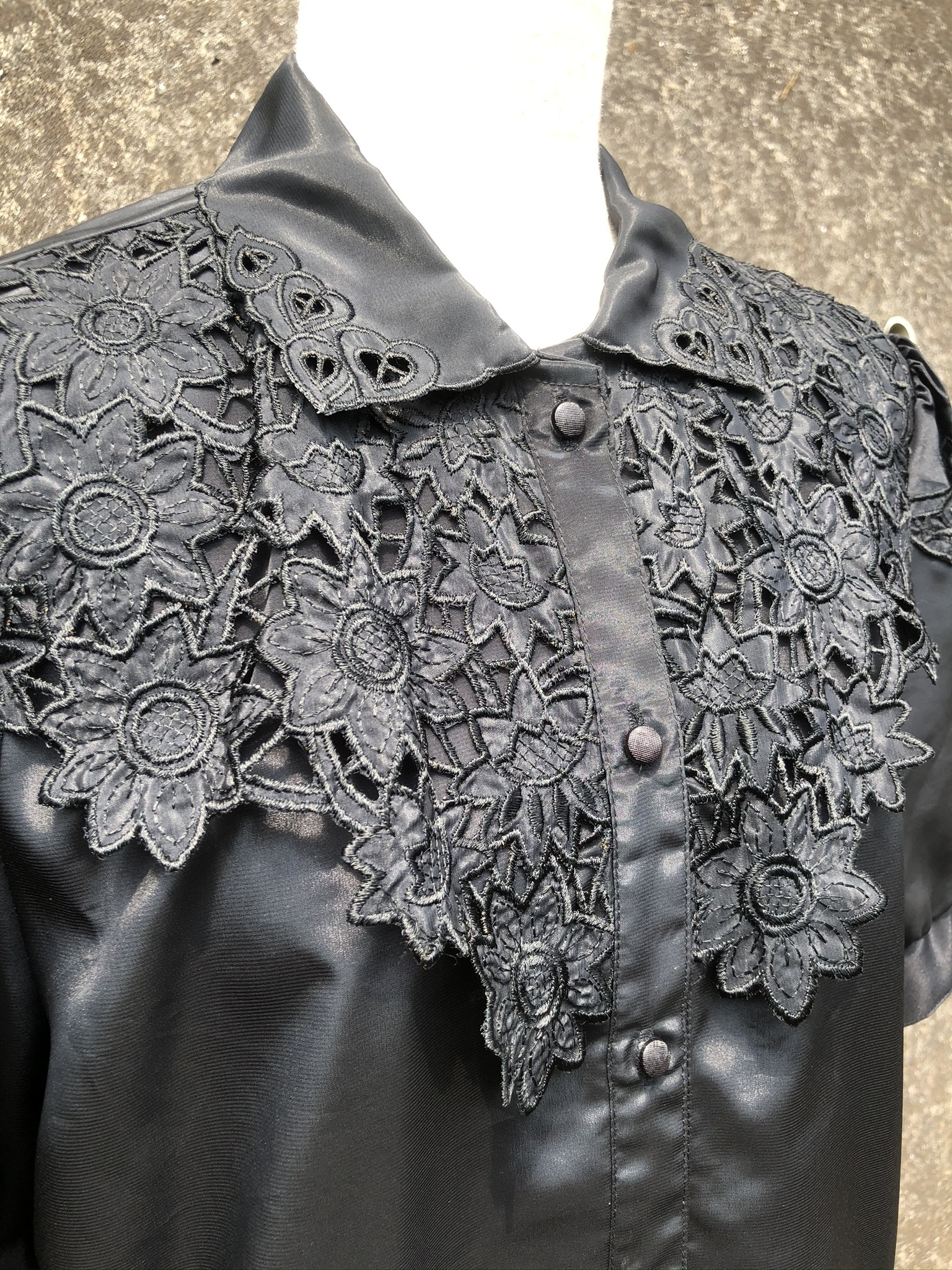 embroidery polyestel shirt