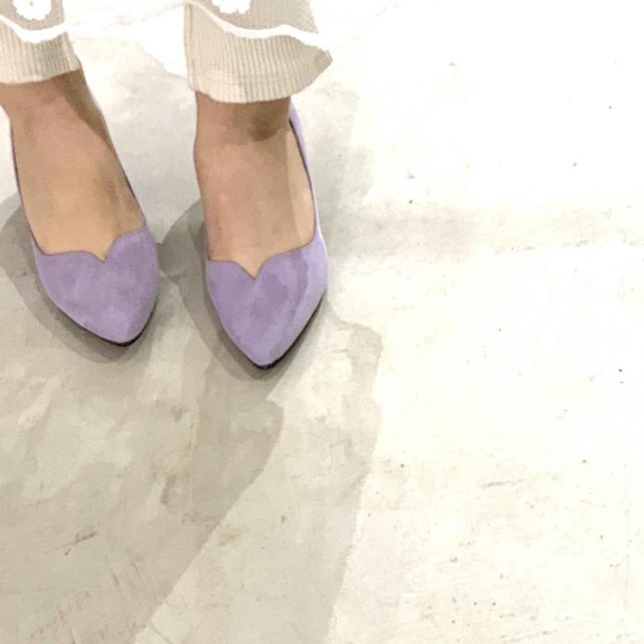 Mini Vcut heel Pumps|ミニVカットヒールパンプス|#pf8270 |【POMFLEUR】|madeinjapan|日本製