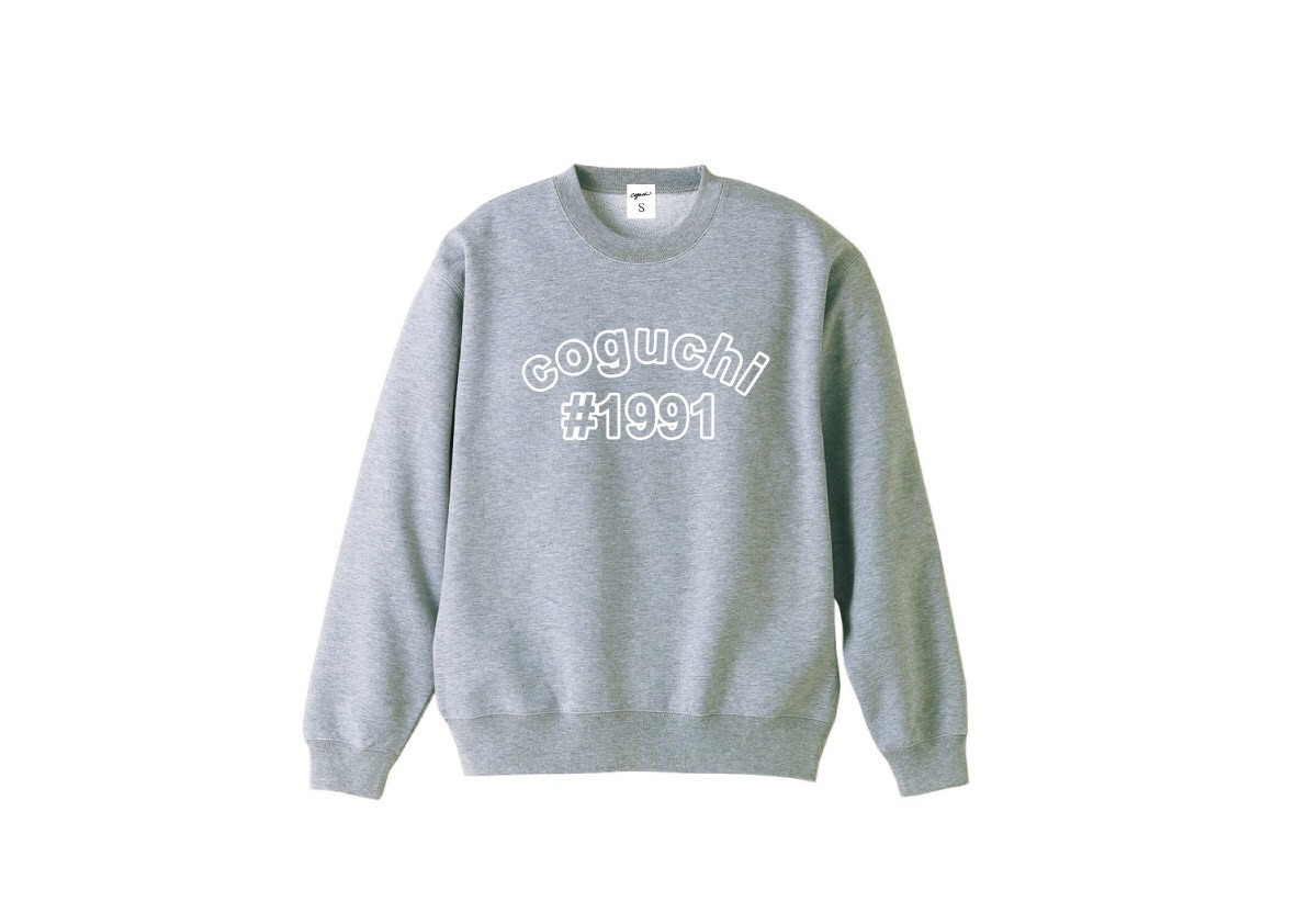 coguchi #1991 sweat (GRY)