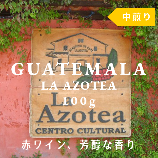 GUATEMALA|ANTIGUA LA AZOTEA|中煎り|コーヒー豆