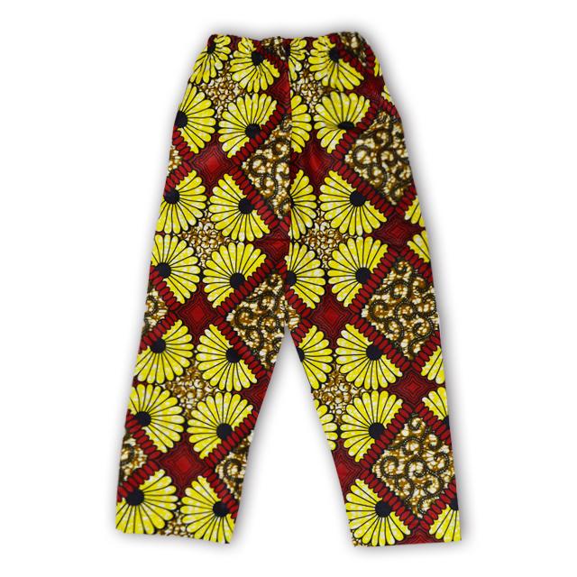 アフリカ柄ズボン(女性M・L)A
