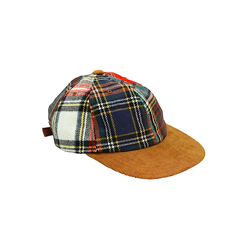 BROWN by 2-tacs / TARTAN CAP