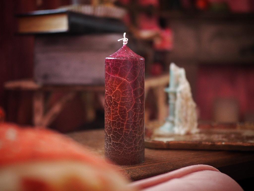 gradation crack candle  1
