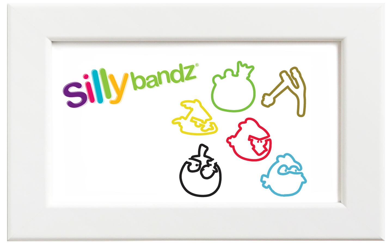 Silly bandz/シリーバンズ アングリーバード