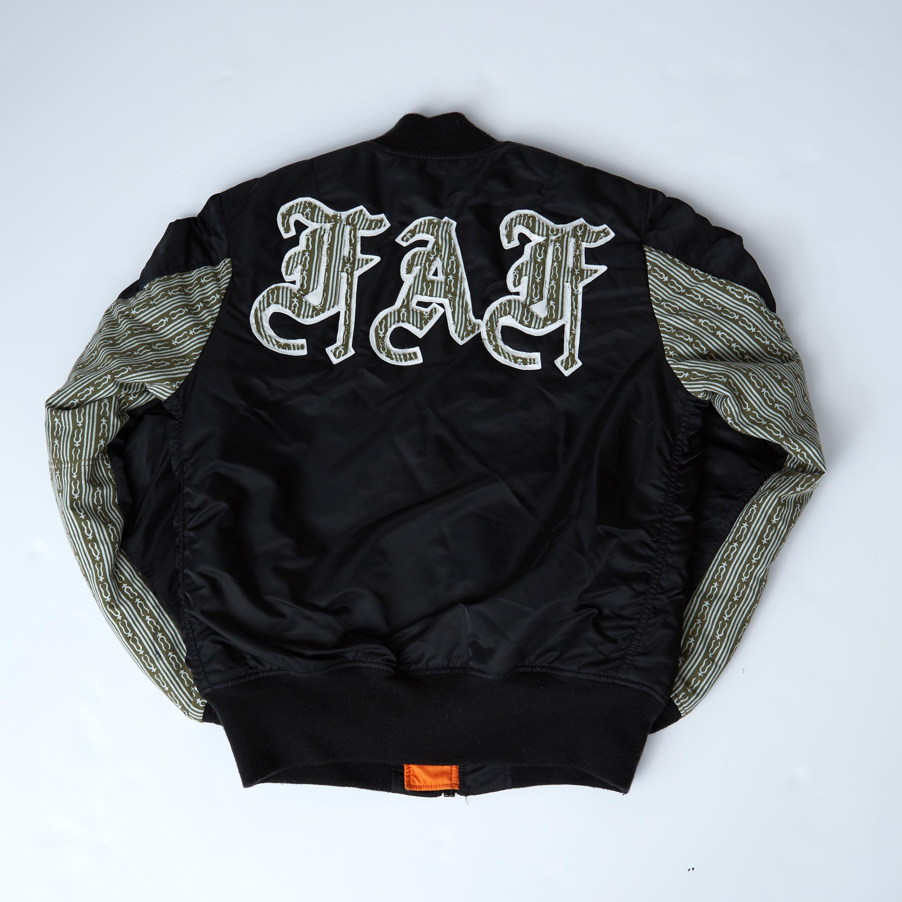 FAF OE MA-1 / BLACK - 画像2