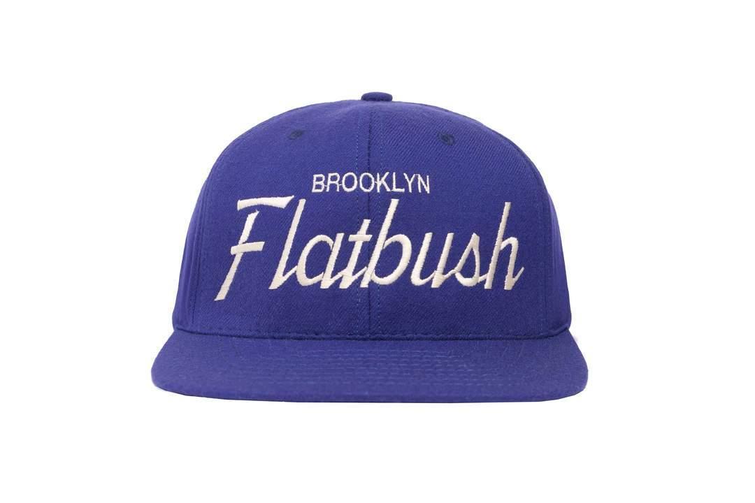 """HOOD®︎ """"Flatbush"""" CAP BLUE"""