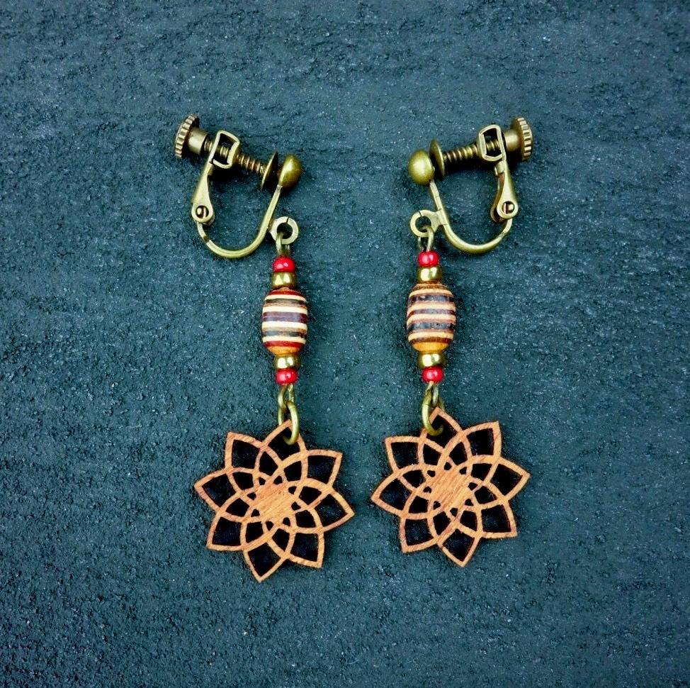 geometric earring EKL-WB-CA