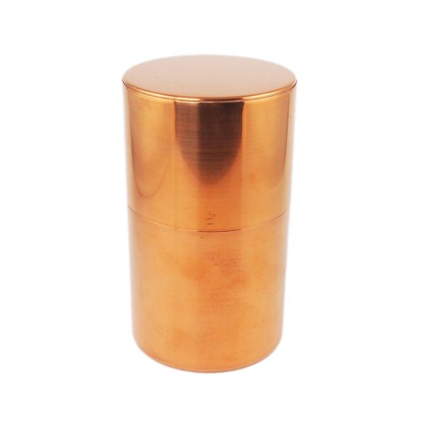 開化堂 茶筒 長型200g 銅