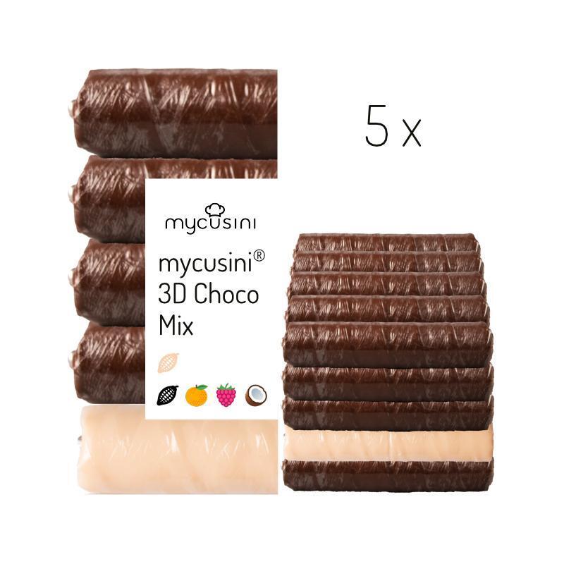 mycusini® 3Dチョコ フレーバーミックス 5パック
