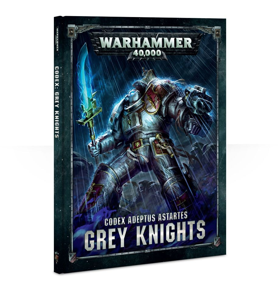 【20%OFF!】Codex: Grey Knights (英語版・8版)