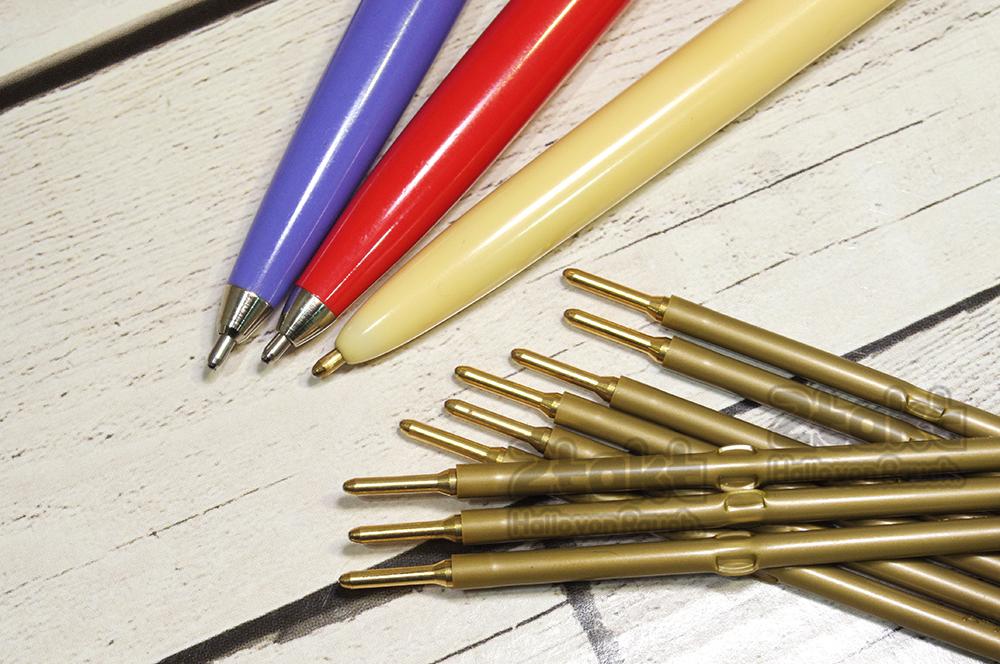 【新品】ビンテージボールペン用 替えリフィル(A2タイプ) インク色:ブラック