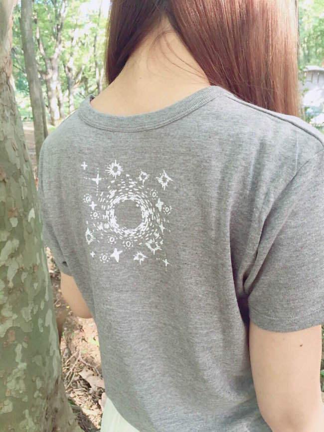 Her Ghost Friendのコスモ☆Tシャツ(ヘザーブラウン) - 画像5