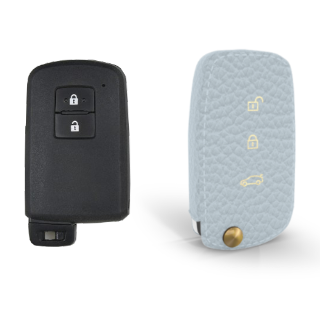 Toyota 専用 TypeB-1 Car Key Case Shrink Leather Case