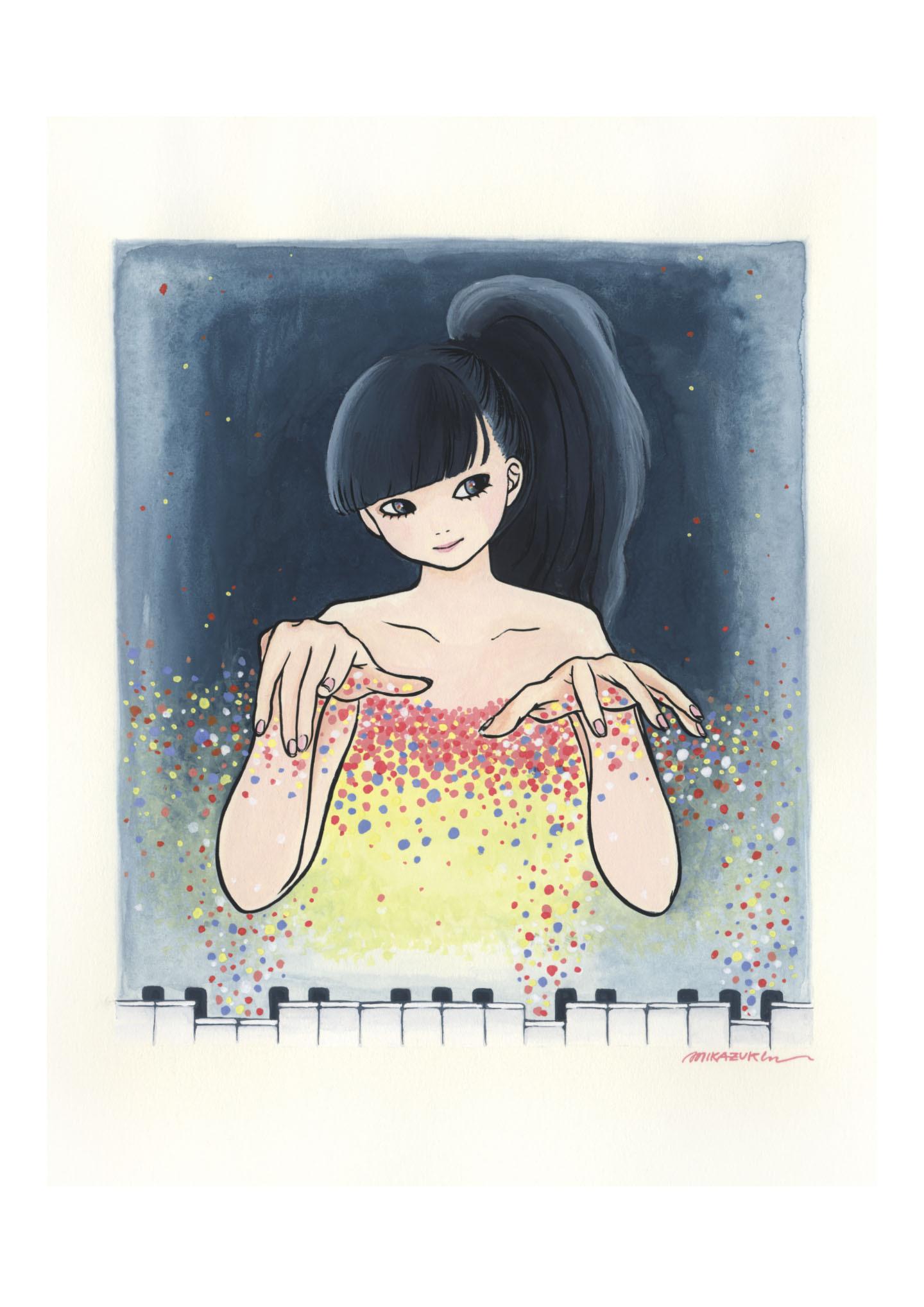 MIKAZUKI / ミカヅキ ミニポスター A4サイズ 「Magic」
