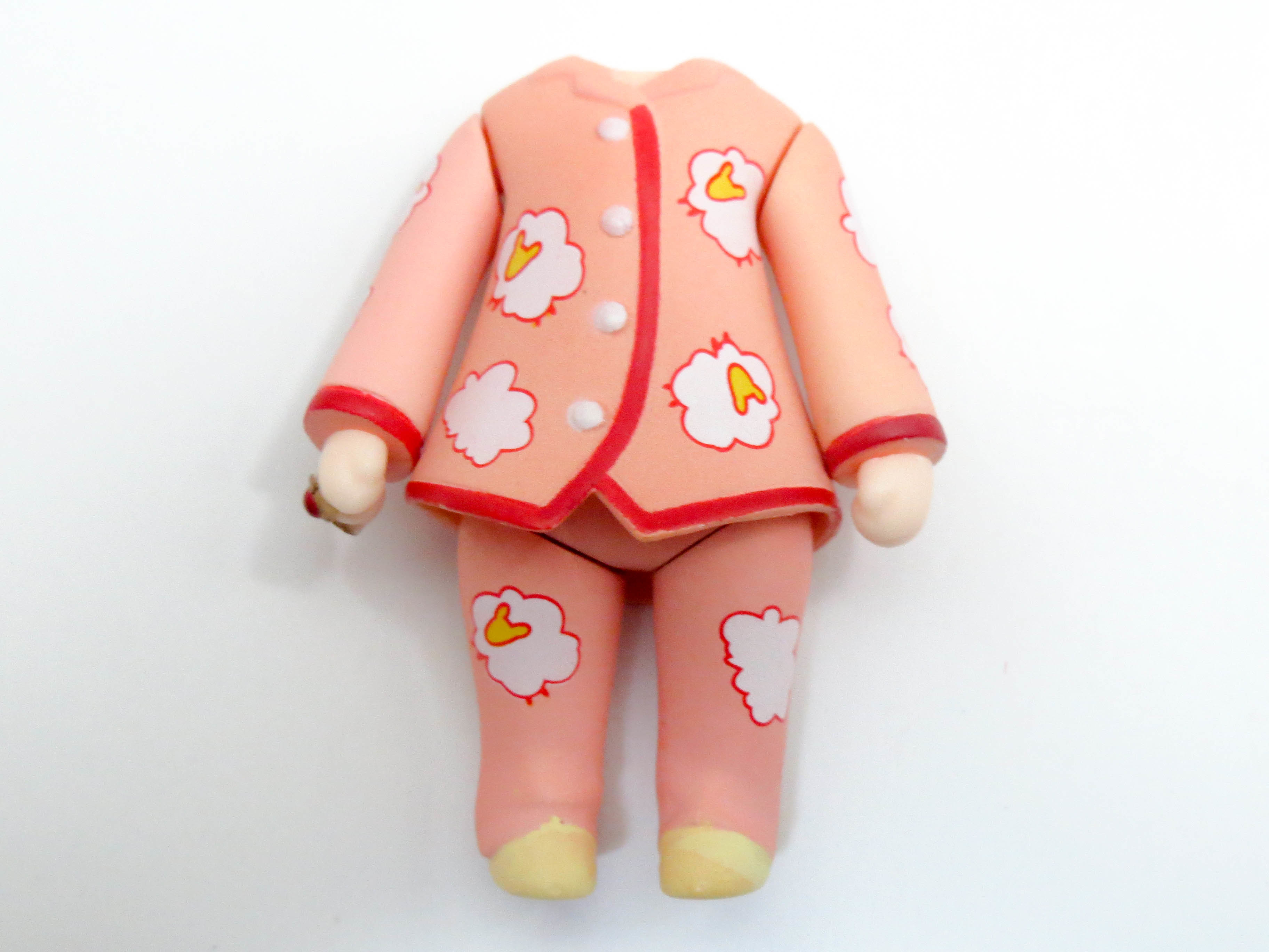 ねんどろいどぷらす 秋姫すもも 体パーツ パジャマ
