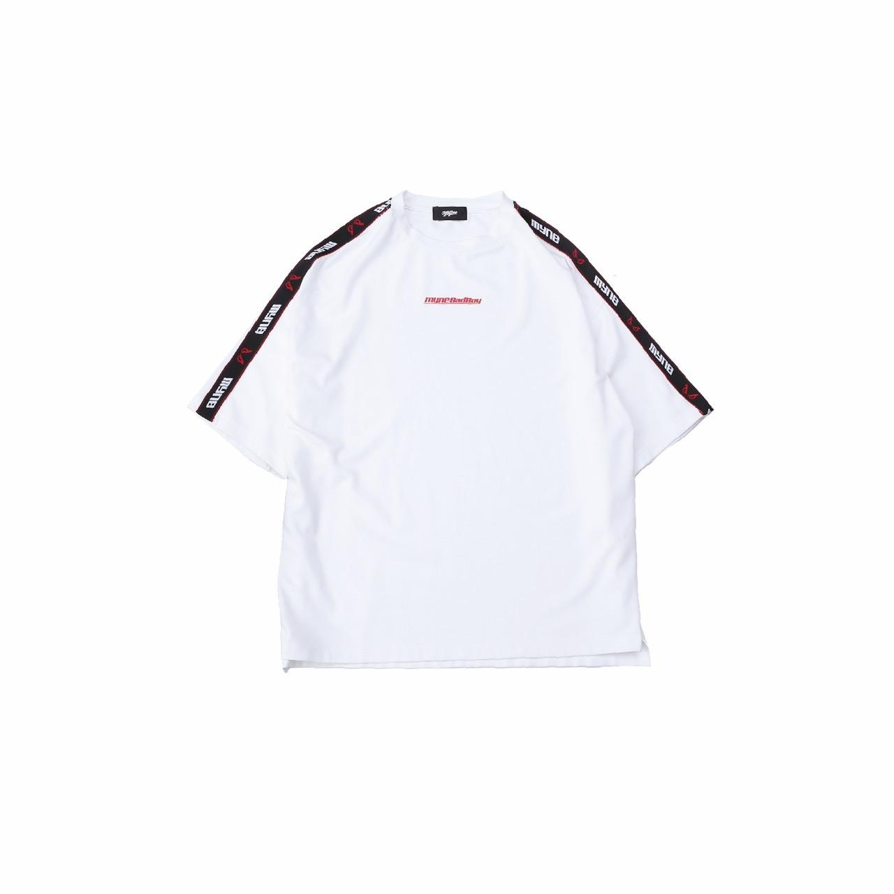 MYne × BADBOY T-shirt / WHITE - 画像1