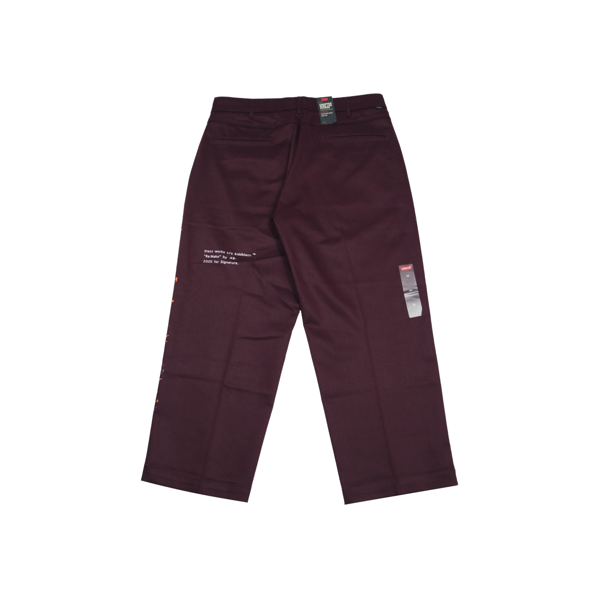 KB Levi's PAINT WIDE CHINO [BURGUNDY]