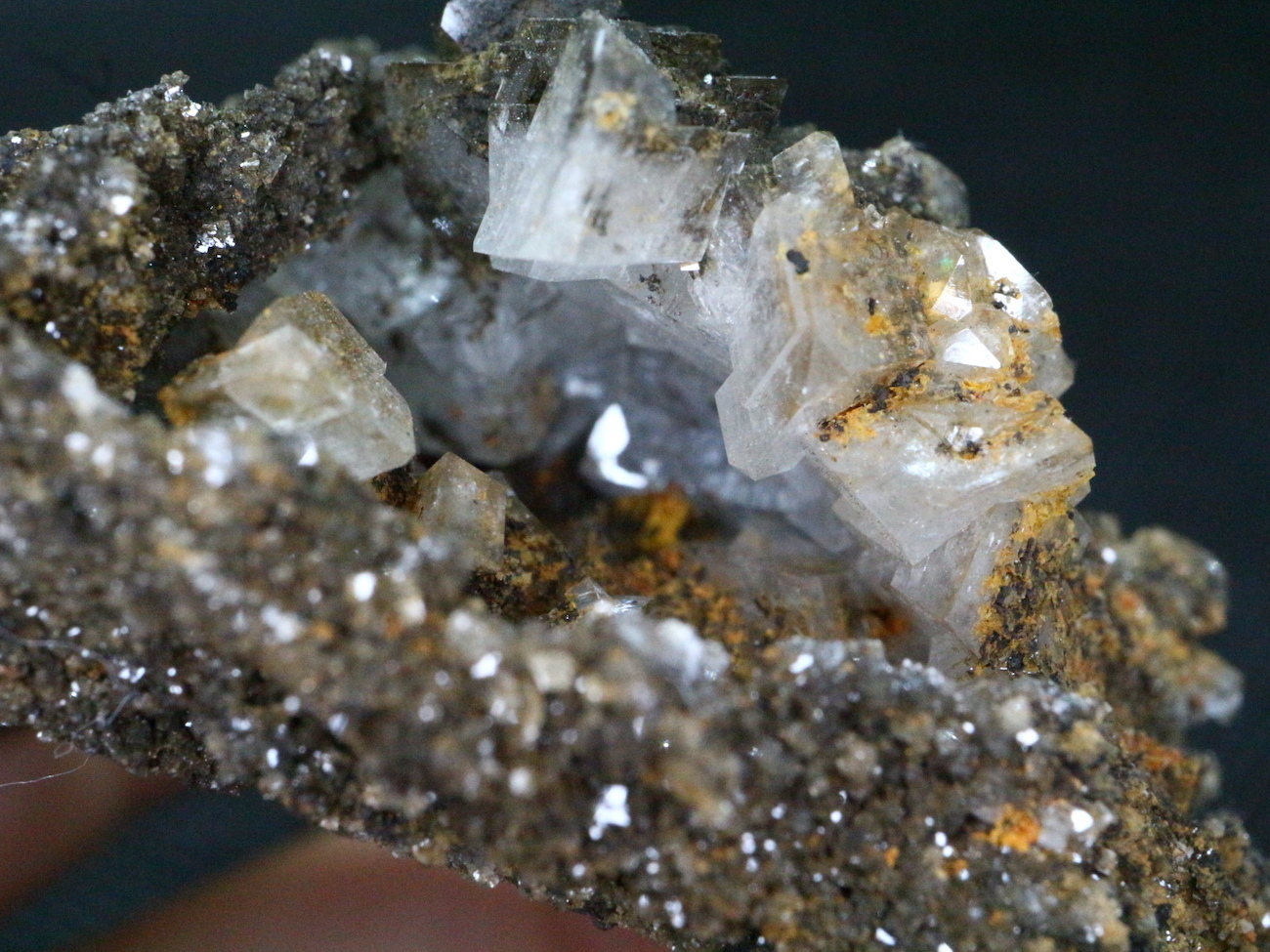 メキシコ産 カルサイト   原石 ドゥルージー 28,7g CAL008 鉱物 天然石 パワーストーン