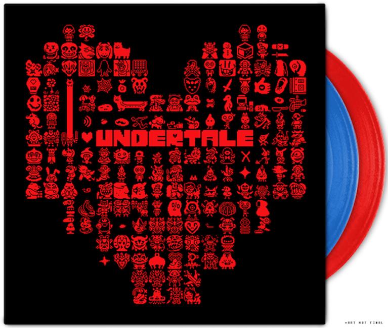 【UNDERTALE(アンダーテイル)】レコード・セット(2LP+MP3ダウンロード) - 画像1