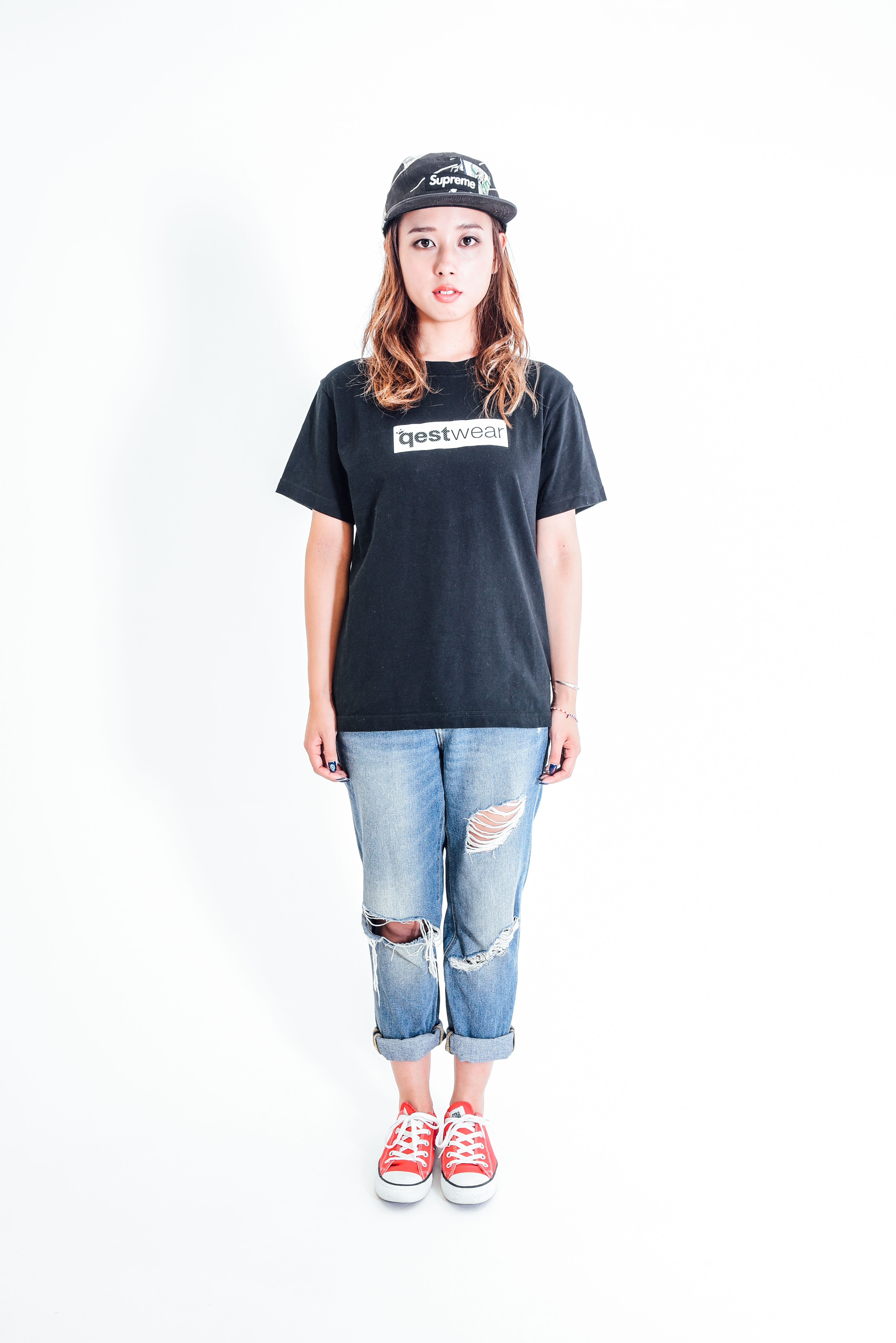 Box Logo Tshirt / Black - 画像4