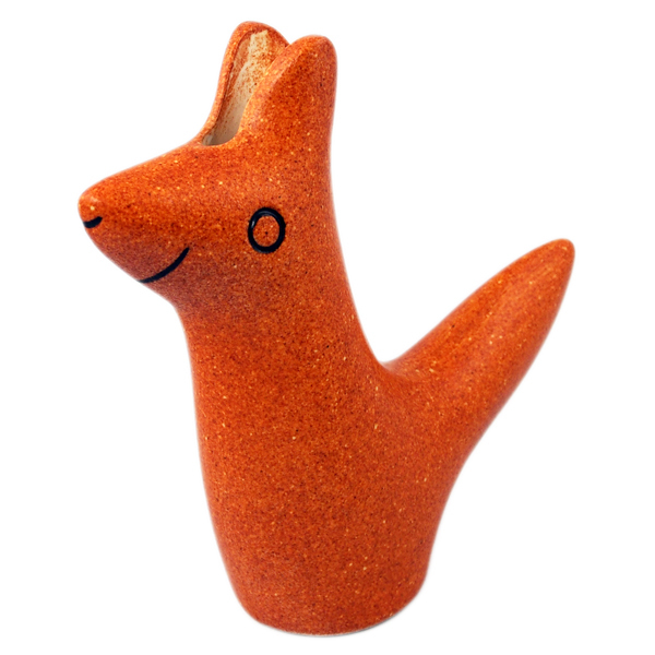En Liten Van  Flower Vase Fox brown