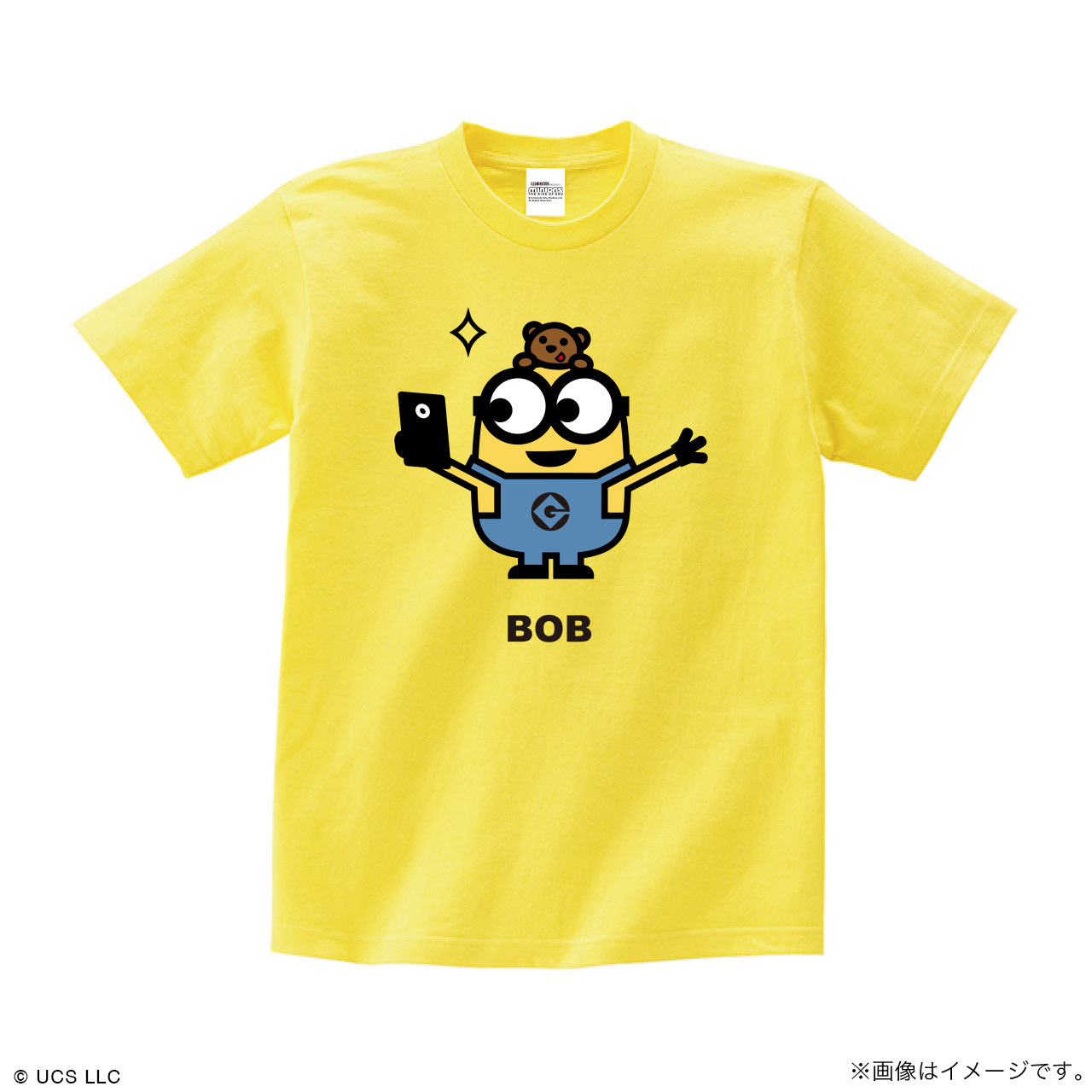 Tシャツ/ミニオン(ボブ イエロー)【MINIONS POP UP STORE 限定】
