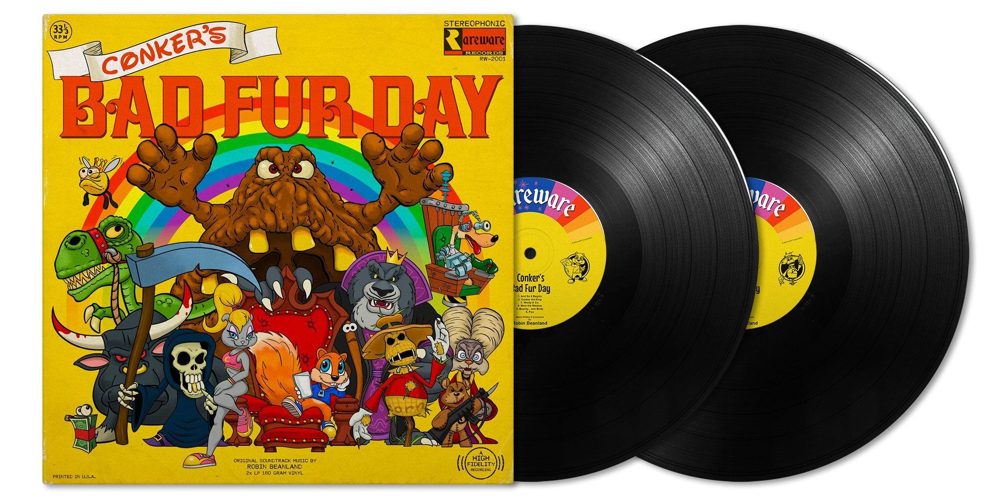 Conker's Bad Fur Day / コンカーズ・バッド・ファー・デイ(オリジナル・サウンドトラック)2LP - 画像2