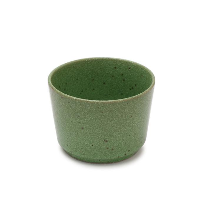 陶器麺猪口・緑 【60-010】