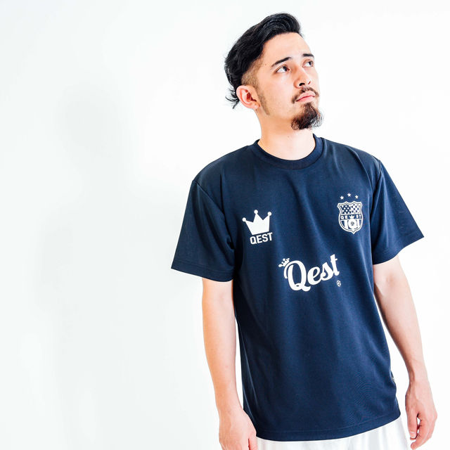 Qest Crown Practice Shirt / Navy - 画像1