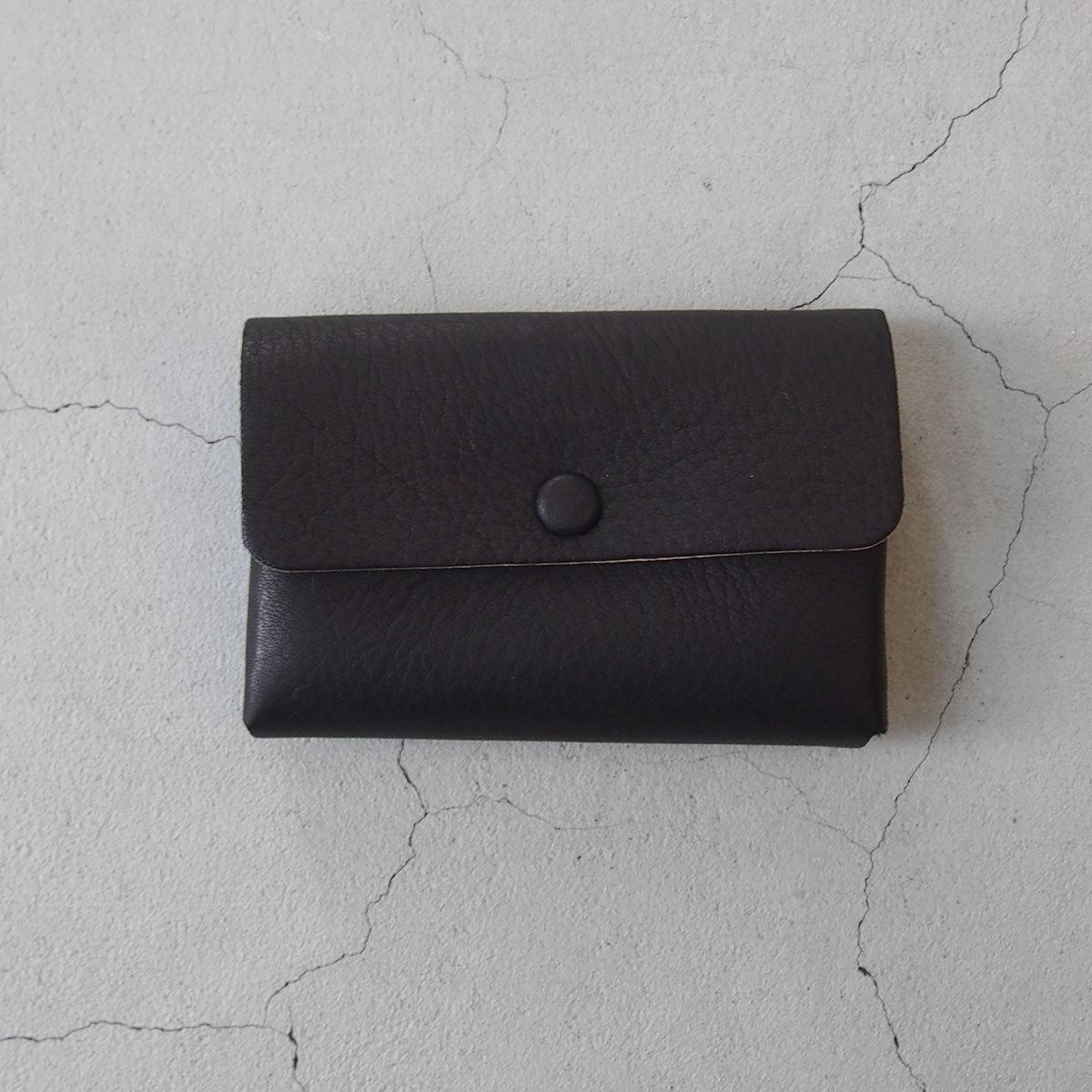 Aeta DEER CARD CASE 2 LAYER BLACK