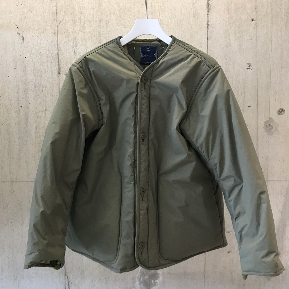 meanswhile Blackboard Cloth Primaloft Lininger Jacket/FOREST