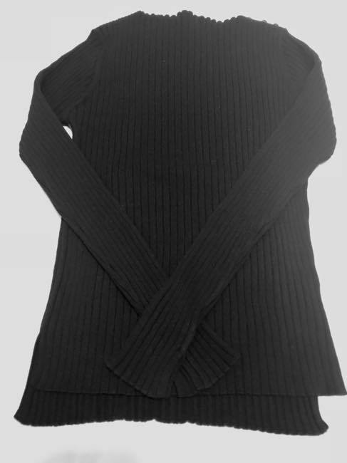 コットンカシミヤセーター   ALDRIDGE ✕blendo アルドリッジ×ブレンドオ コラボ     クロ