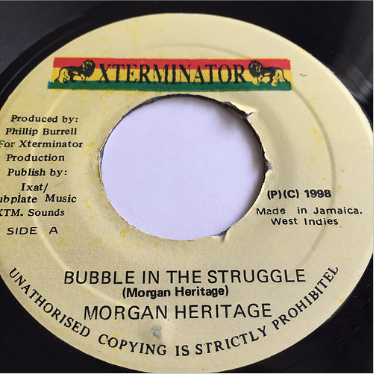 Morgan Heritage (モーガンヘリテッジ) - Bubble In The Struggle【7'】