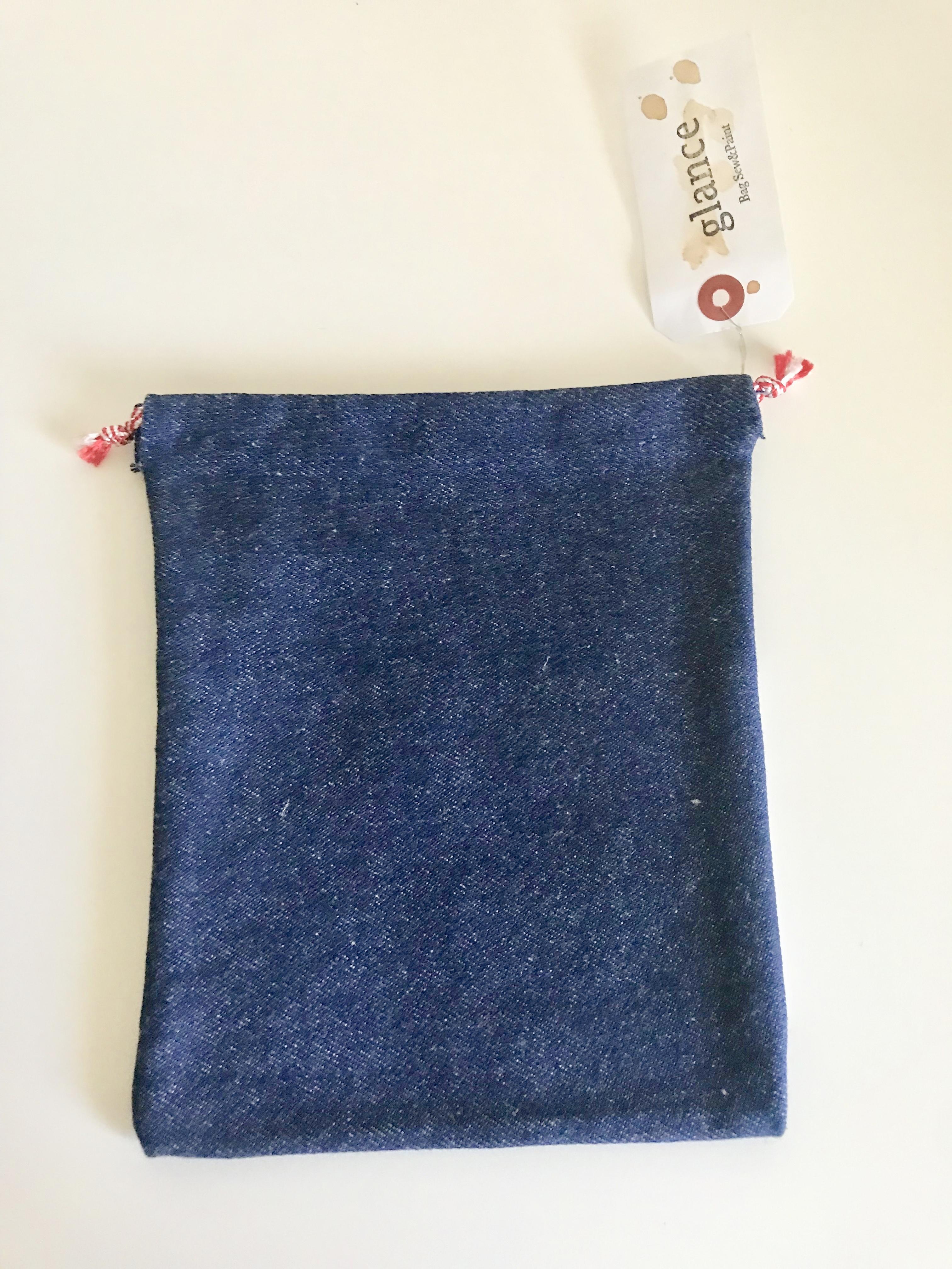 御朱印帳袋(巾着タイプ)−白9