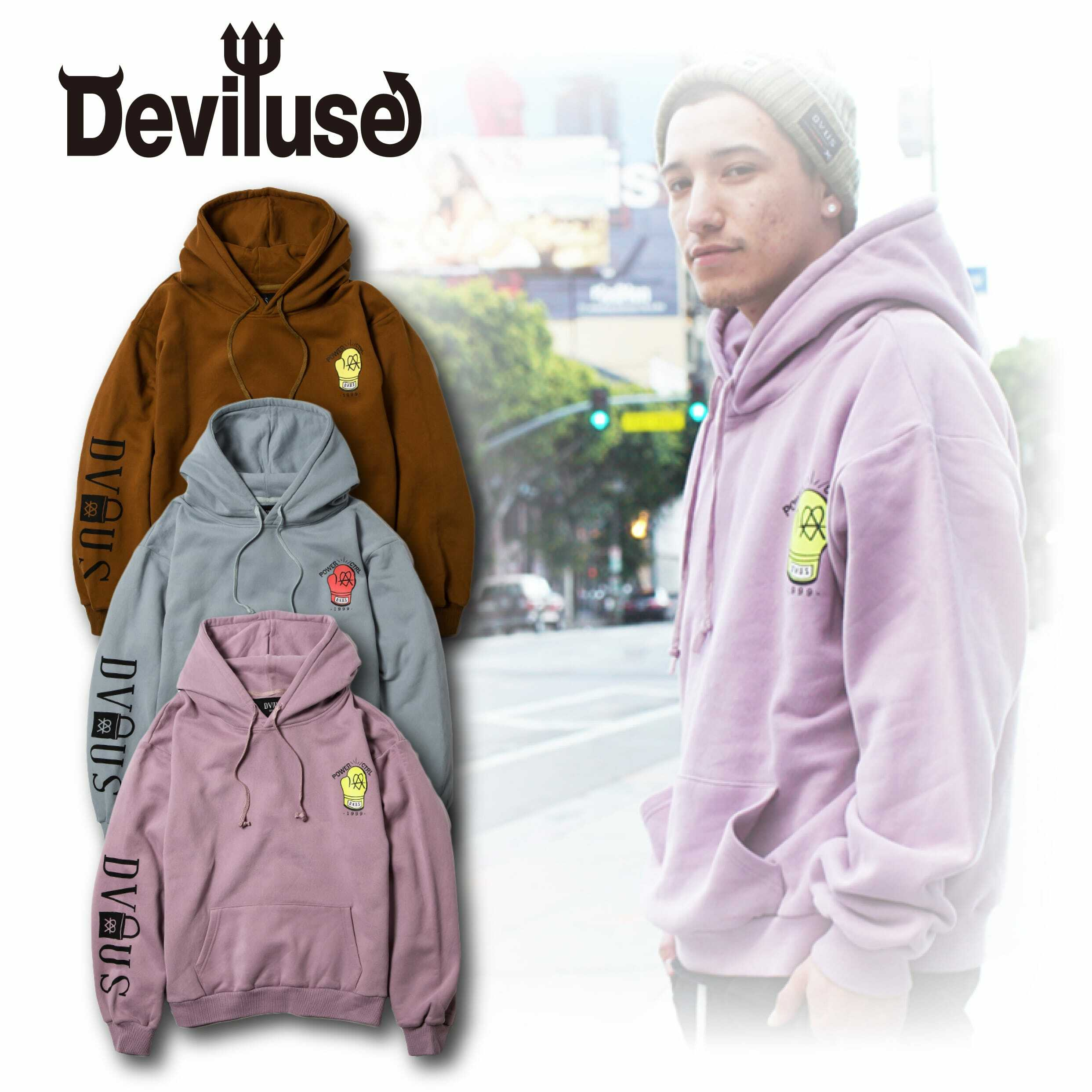 Deviluse(デビルユース) | STAND AGAINST Pullover Hooded
