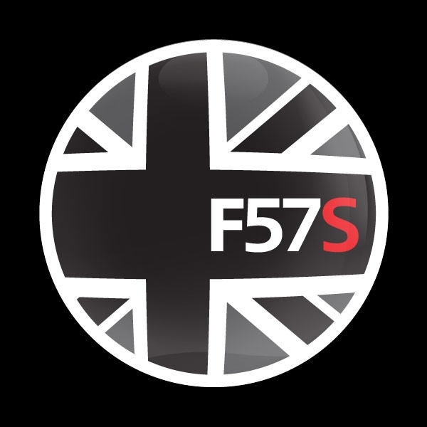 ゴーバッジ(ドーム)(CD1025 - FLAG BLACKJACK F57S) - 画像1