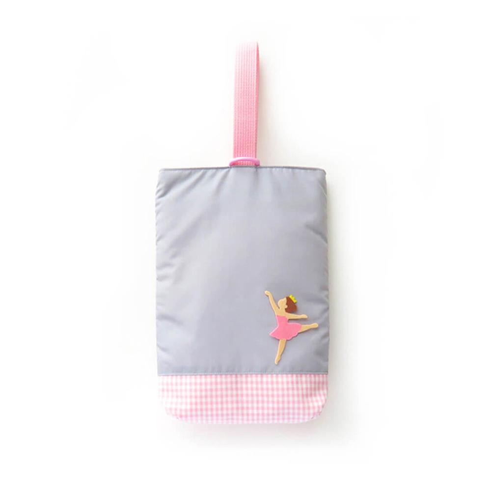シューズ袋(ピンク)