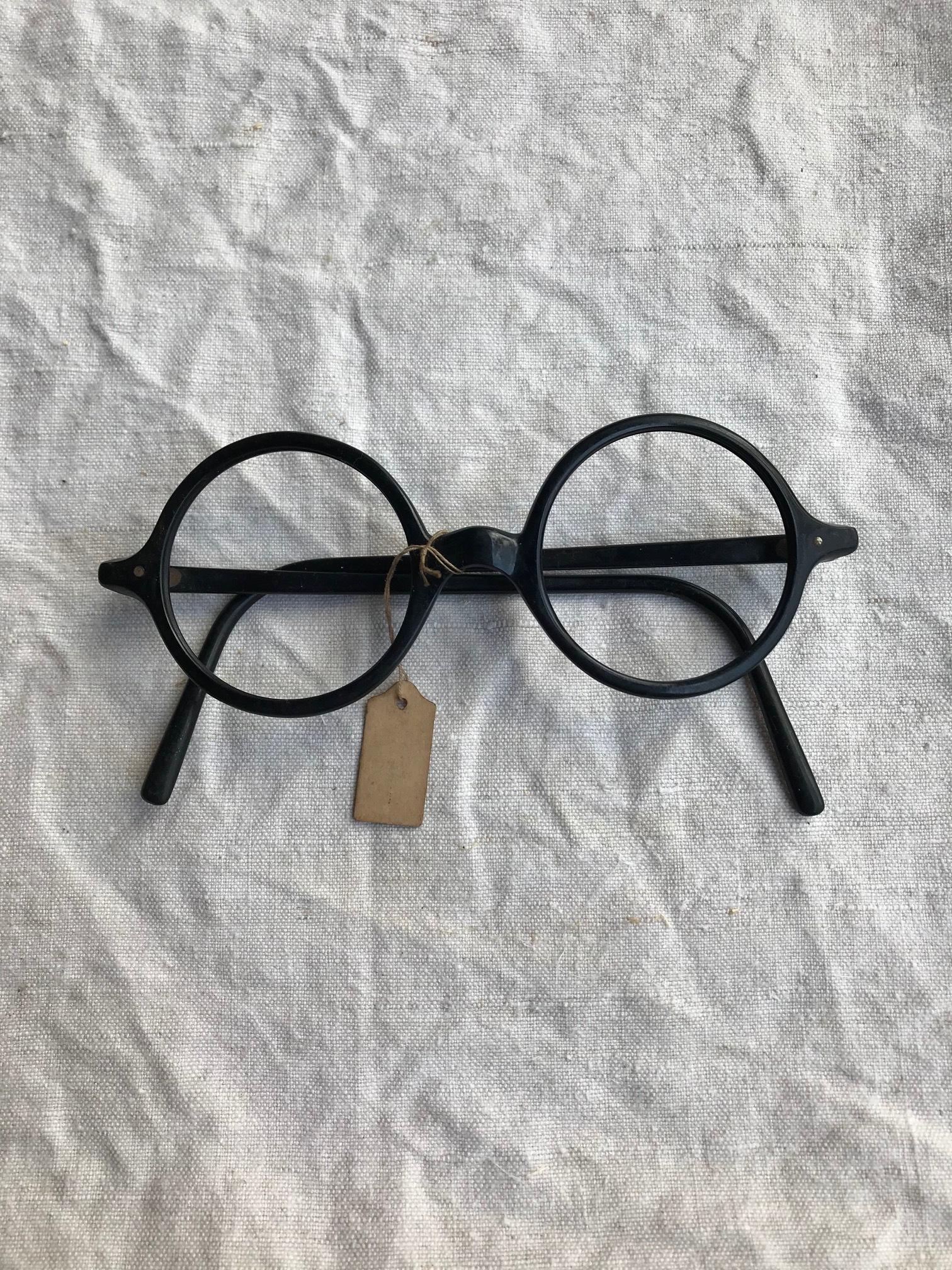古い眼鏡フレーム セルロイド 古道具 A
