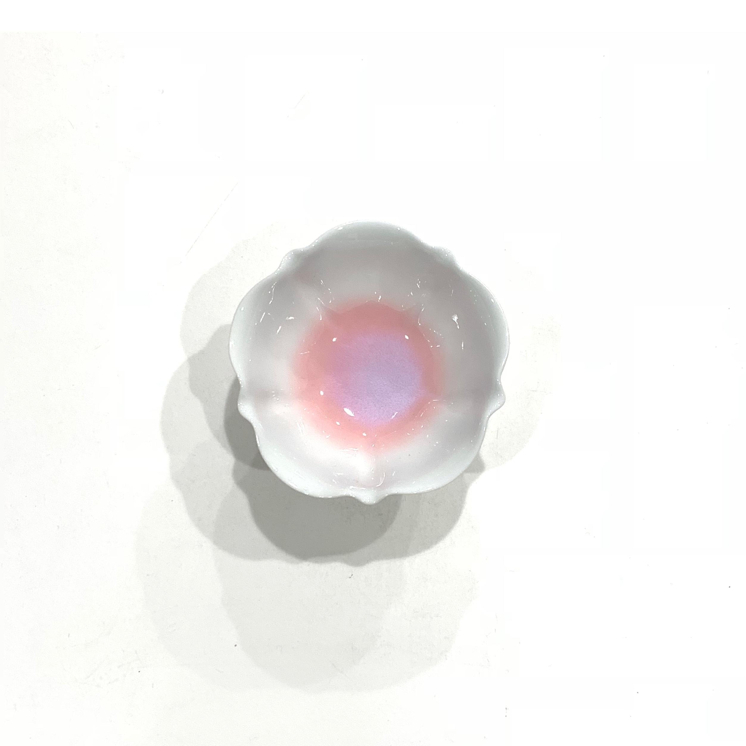 輪花鉢  9cm《デッドストック》