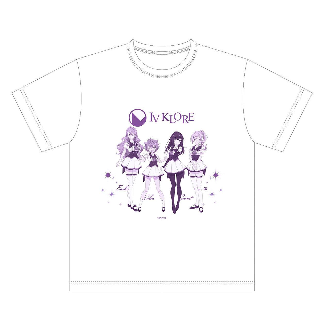 【4589839354448予】ラピスリライツ IV KLORE Tシャツ 白/Lサイズ