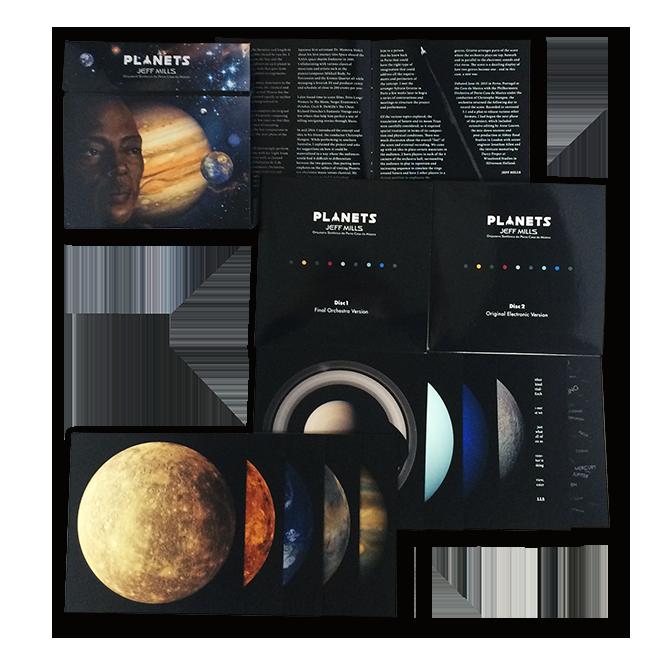 ジェフ・ミルズ&ポルト・カサダムジカ交響楽団 - Planets(初回生産限定盤[Blu-ray+CD]) - 画像3