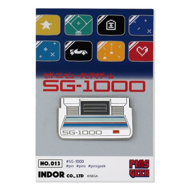 PINS GEEK SG-1000 / ANIPPON.