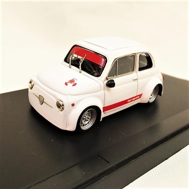 FIAT 500 ABARTH Concorrenza 1/43 【PEGO】【1個のみ】【税込価格】