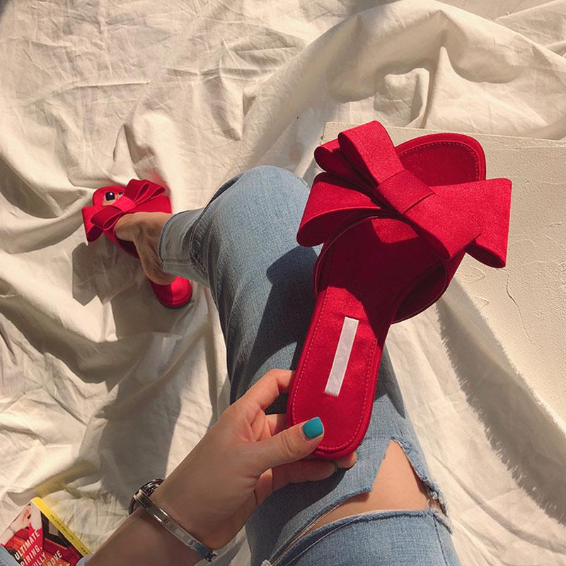 【即納】リボンミュール(RED)