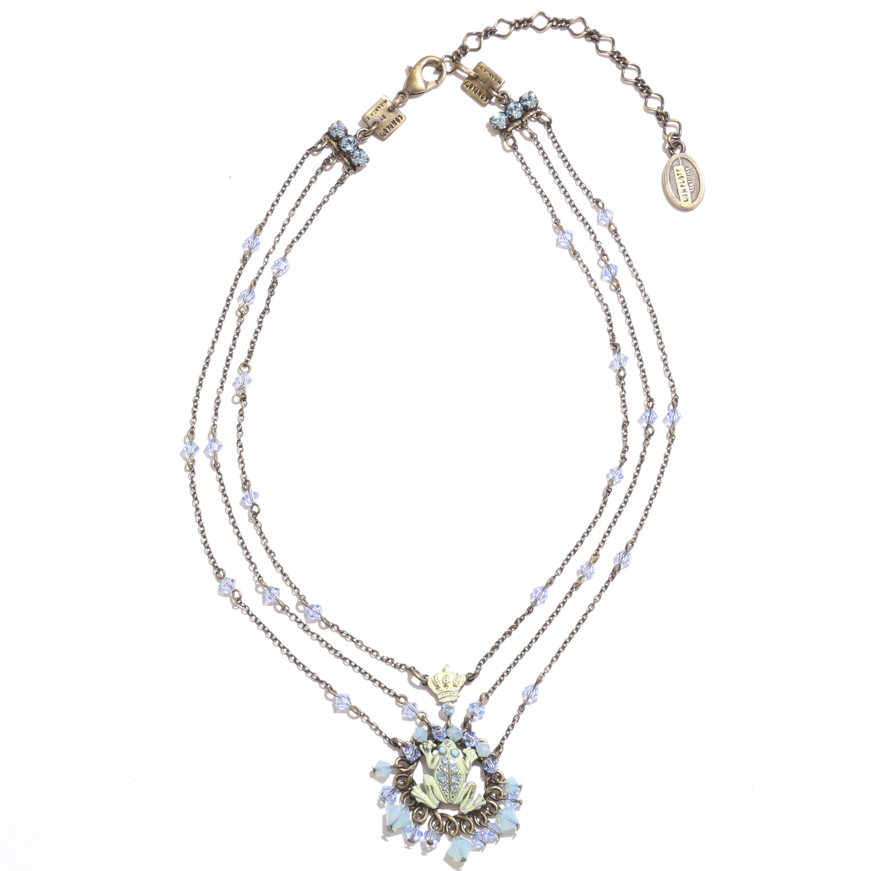 Carousel neklace/anklet ネックレス カエル