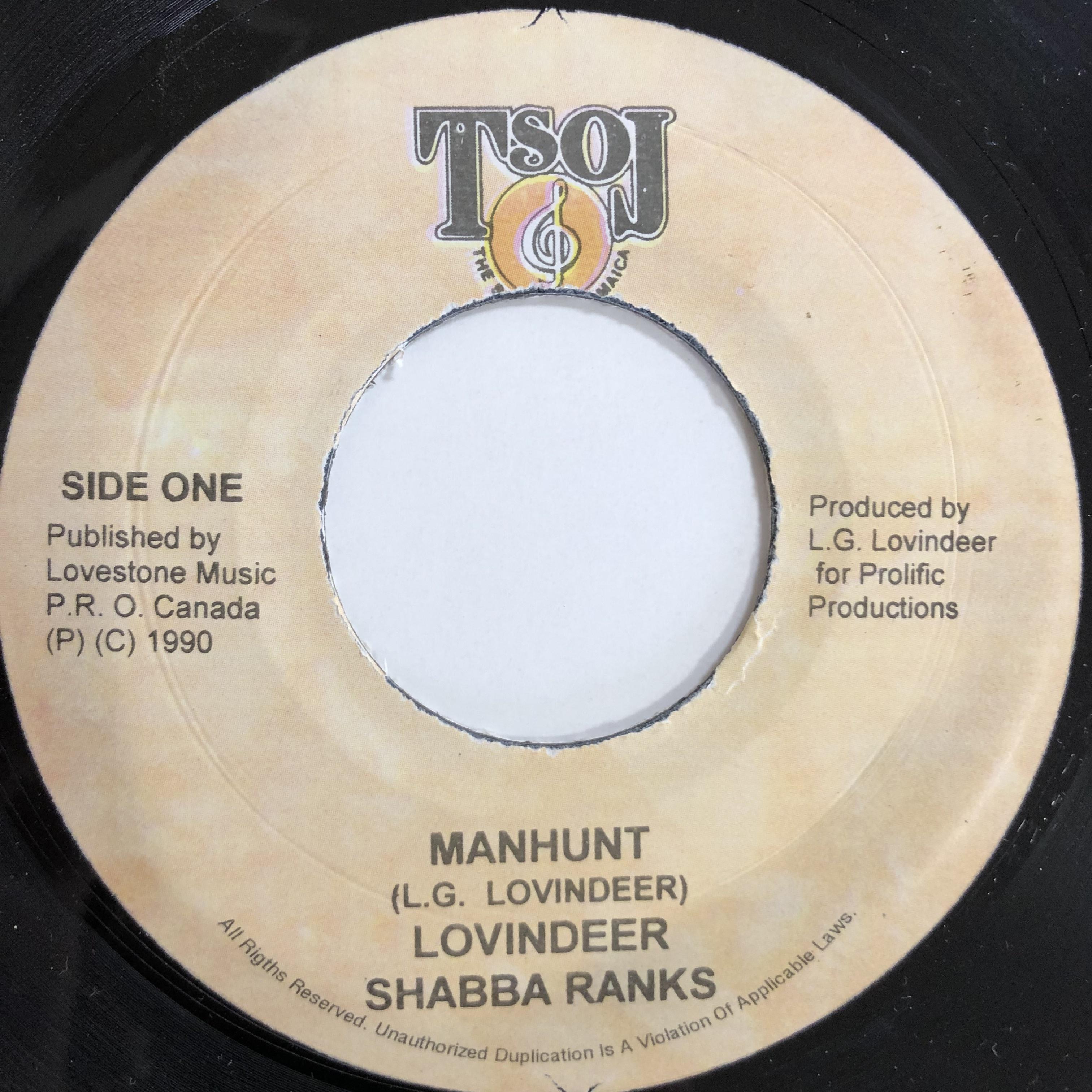 Lovindeer & Shabba Ranks - Manhunt【7-20084】
